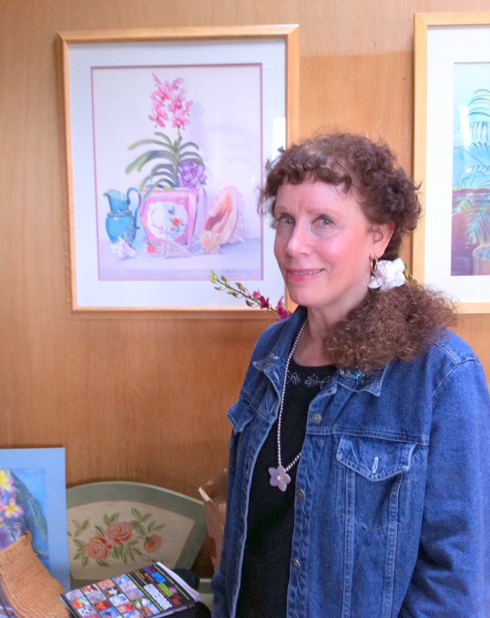 Barbara Steinberg, Watercolor Studio, Maui