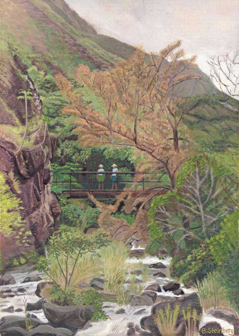 Iao Valley giclee fine art reproduction