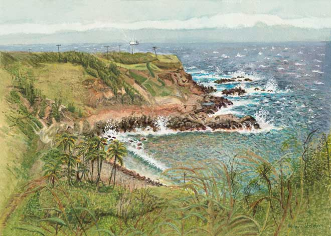 Warm Maui Winds giclee fine art reproduction